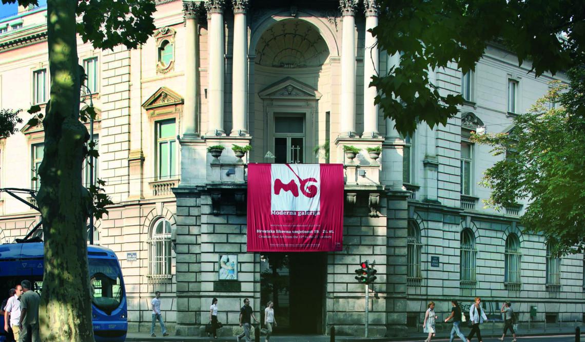 During hot summer days visit Modern Gallery in Zagreb