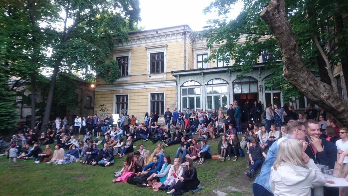 Outdoor concerts at Von Stritzky's Villa
