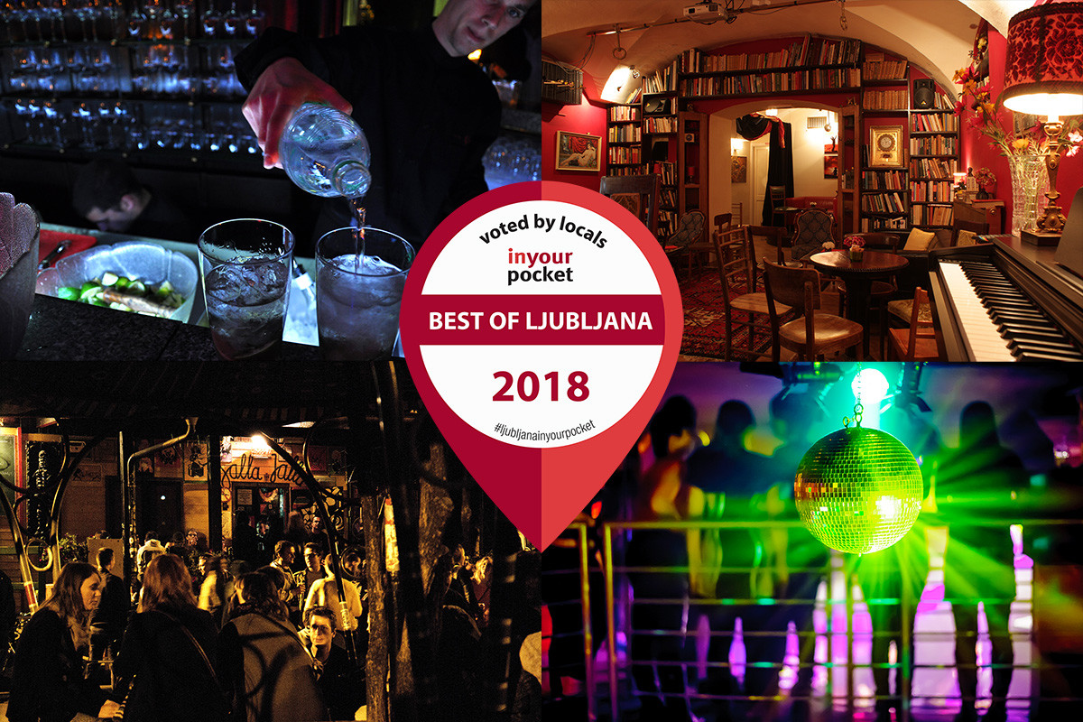 Best Nightlife in Ljubljana 2018