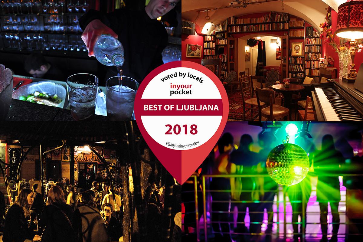 Best Nightlife in Ljubljana 2018