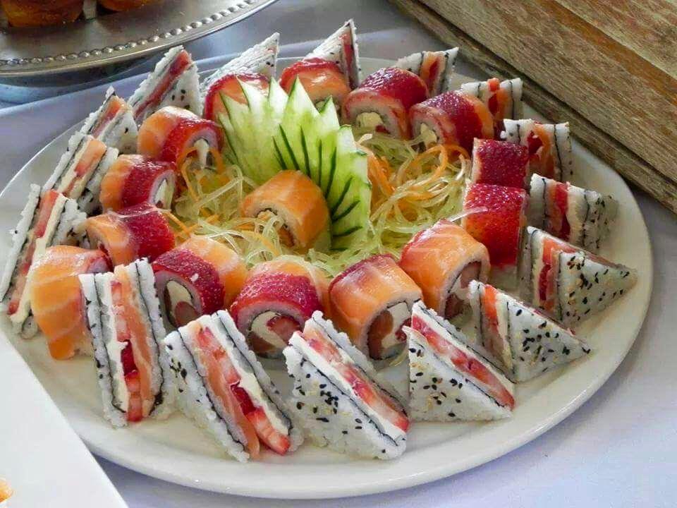 Gourmet Sushi Fashion Street